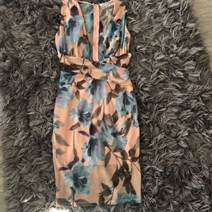 Charlotte Russe floral sz small beautiful cocktail